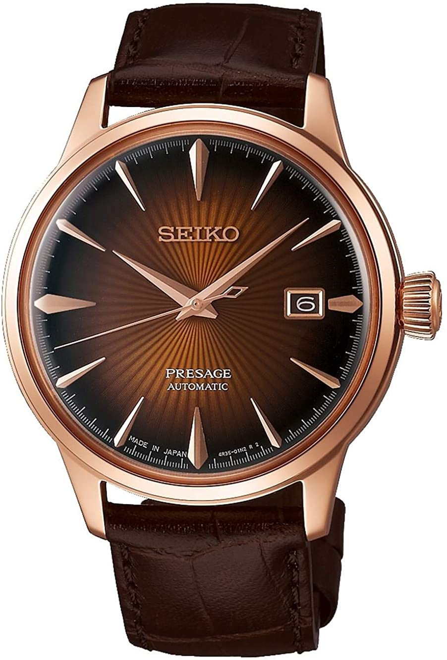 SEIKO PRESAGE Automatic Brown Gradient Cocktail Time