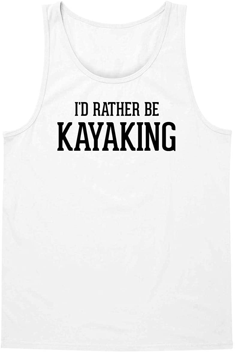 I'd Rather Be KAYAKING - A Soft & Comfortable Men's Tank Top