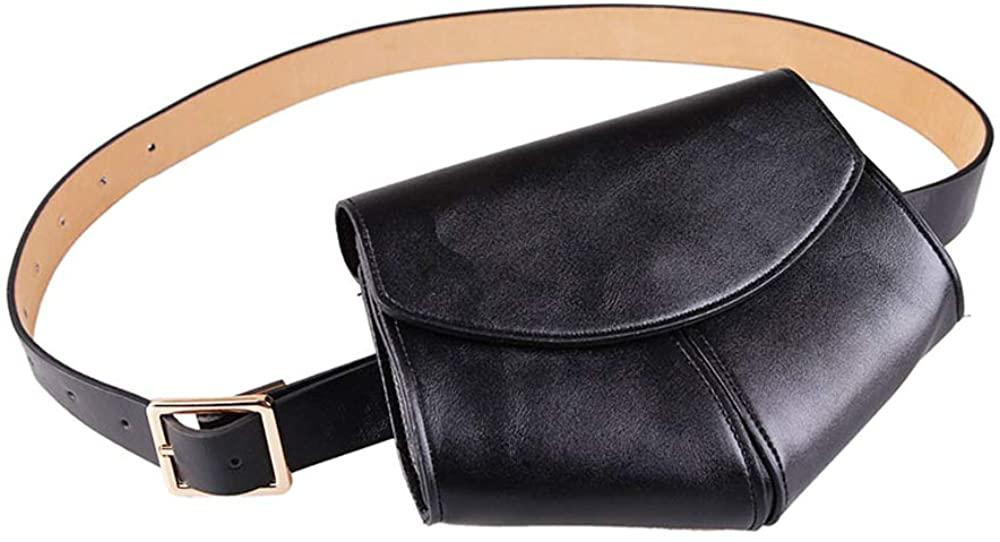 VITORIA'S GIFT Vintage Fashion luxurious cowhide Elegant Snakeskin Fanny Pack Removable Waist Bag Belt