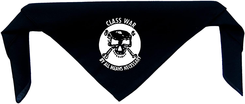 Class War Bandanna - Anti Authority Establishment Corporation Social Political Anarchy Activism Anarchism Government Media Anarcho Liberation Punk Earth Human Rights Welfare Animal Dog