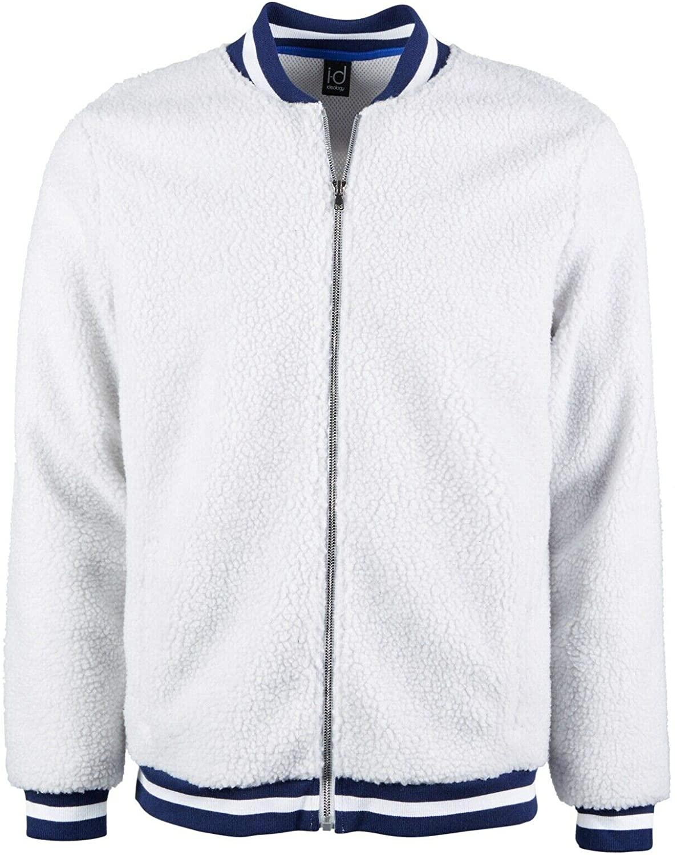 Ideology Men's Sherpa Fleece Full Zip Outerwear Jacket