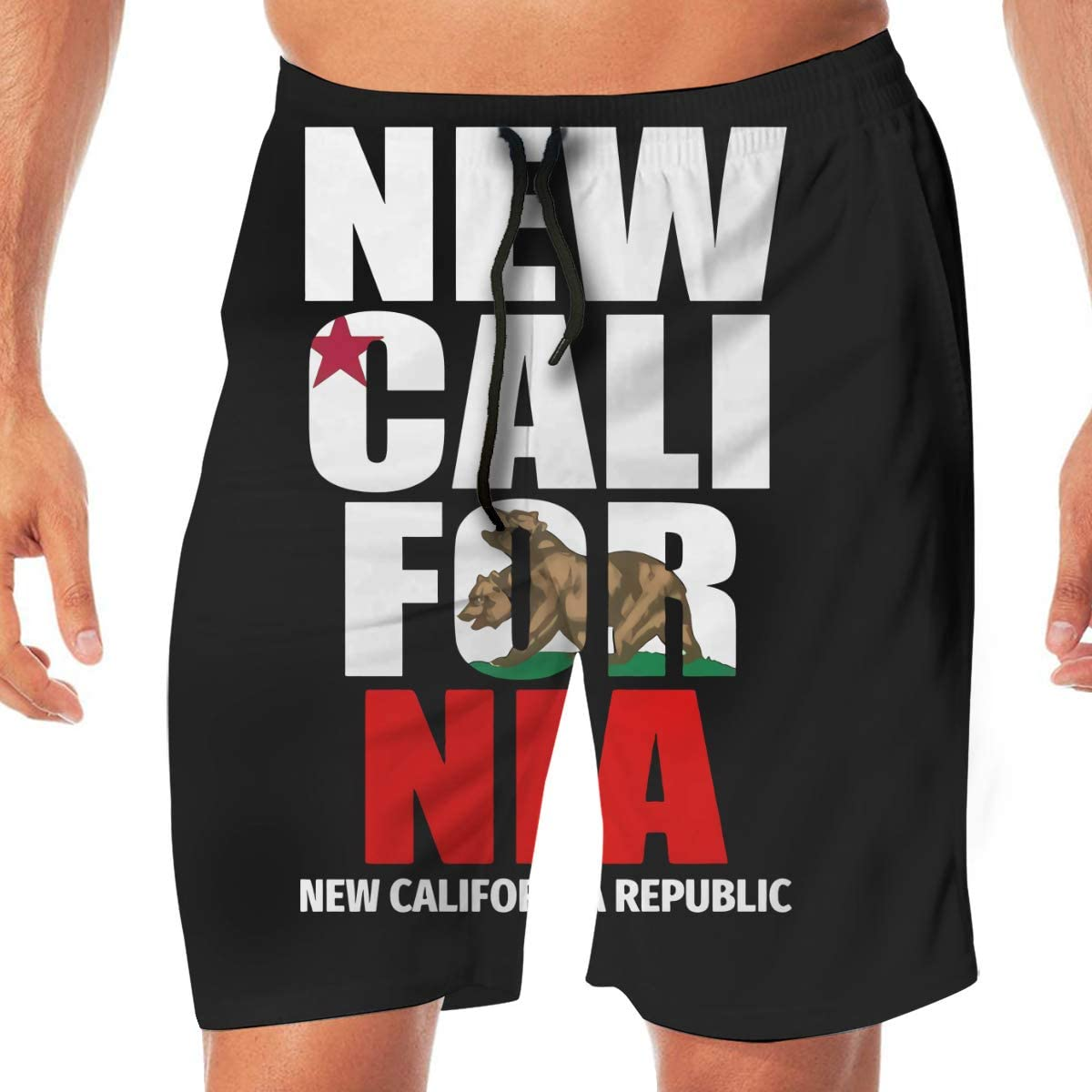 Gerneric New California Republic Quick Dryswim Trunks Water Shorts Swimsuit Beach Shorts
