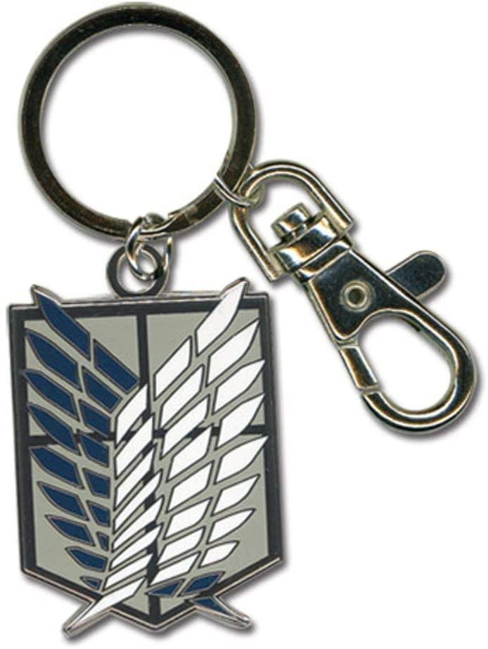 Great Eastern Entertainment Attack On Titan Scouting Legion Emblem Keychain