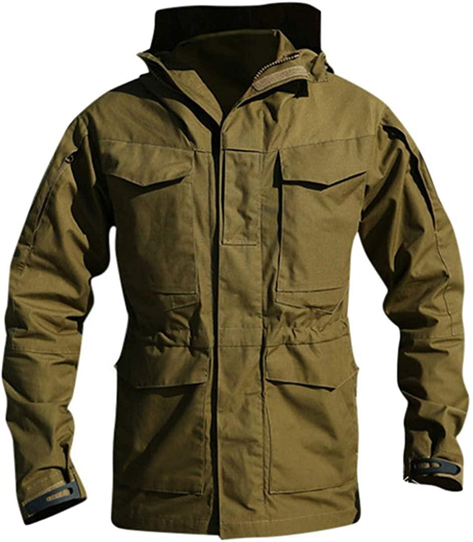 Men's Air Force Tactical Military Jacket Cotton Slim Coat Army Pilot Autumn Jacket