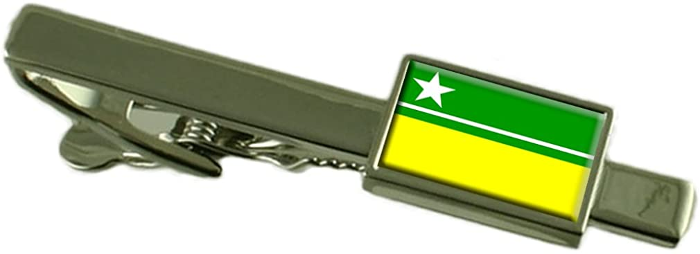 Boa Vista City Brazil Flag Tie Clip