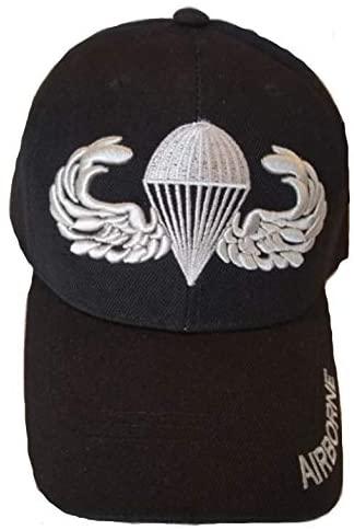 Paratrooper, Airborne Military Cap, Black