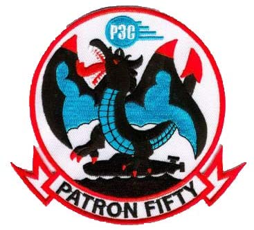 VP-50 Blue Dragons Squadron Patch – Plastic Backing