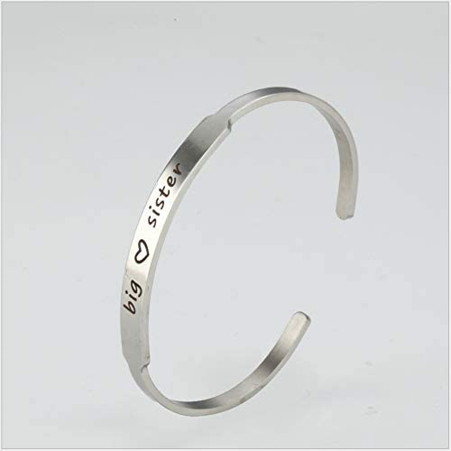 ayuxin Braceletstainless Steel Letter Bracelet Friendship C-Bracelet Attractive Bracelet Birthday Christmas