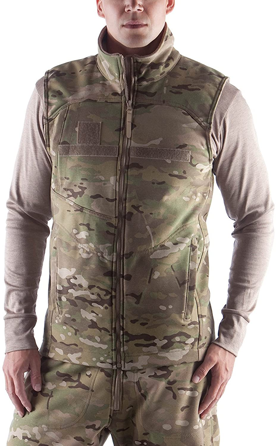 US Military Genuine Issue Massif IWOL Cold Weather Fire-Retardant Vest, Multicam OCP