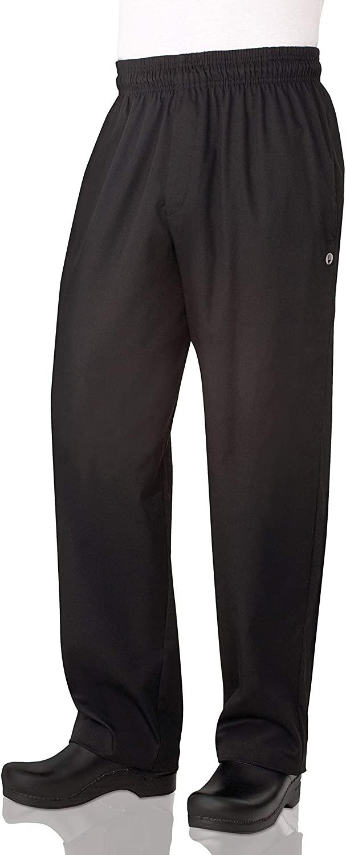 Chef Works Men's Essential Baggy Zip-Fly Chef Pants