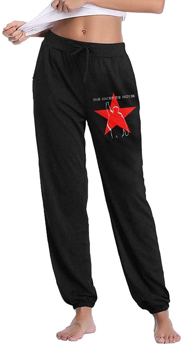 Rage Against The Machine Womens Comfort Soft Sweatpants Women's Long Pants