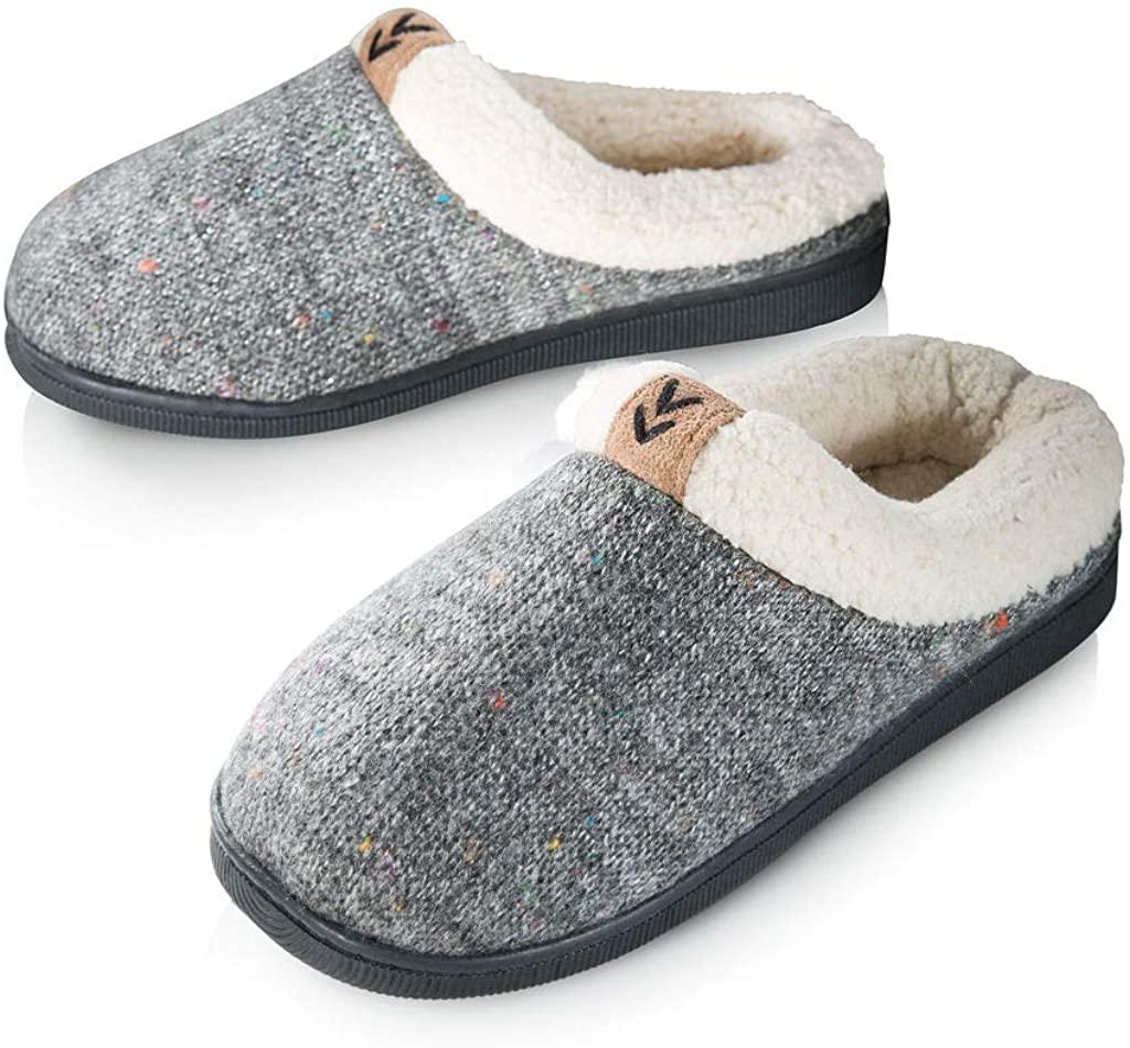 Pupeez Girls Slipper Cozy Warm Clog Kids House Shoe Rubber Sole
