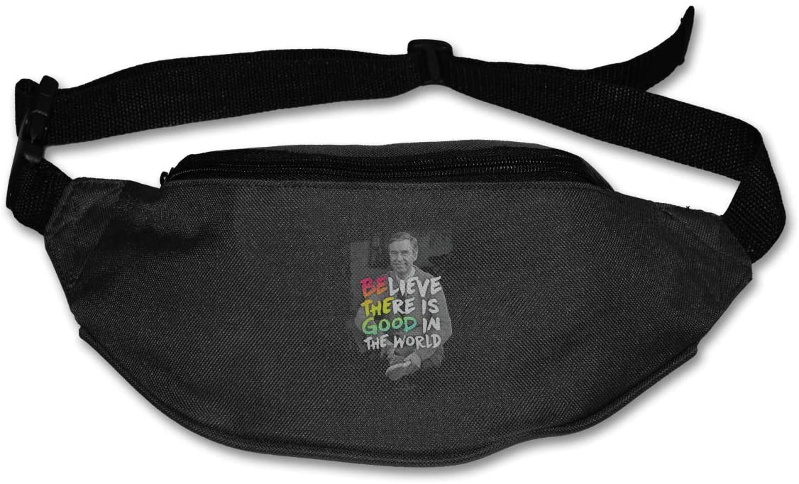 Luomingg Mister Rogers Be The Good Purse Belt Bag Runner's Waist Pack