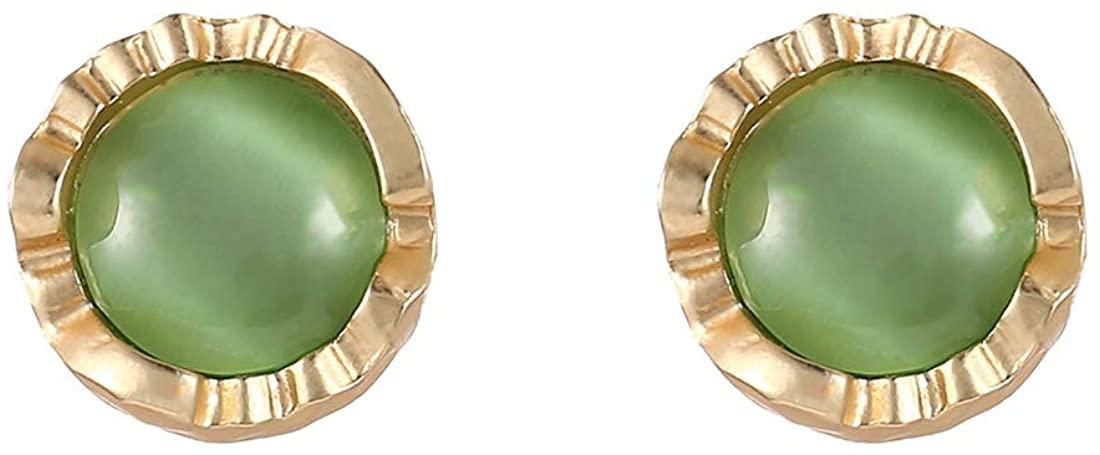 JXVLUYE Colors Earring for Women Girls - Fashion Simple Style Earring, Great Gifts for Women Girls(Opal)