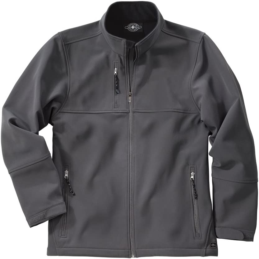 Charles River Mens Ultima Soft Shell Jacket-Pewter-XL