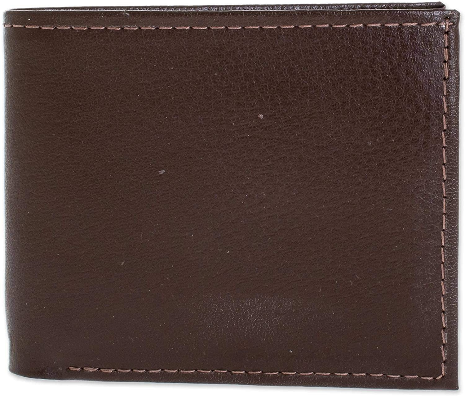 NOVICA Leather wallet, Chestnut Convenience'