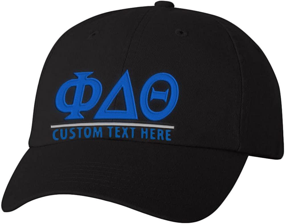 Personalized Phi Delta Theta Greek Line Hat