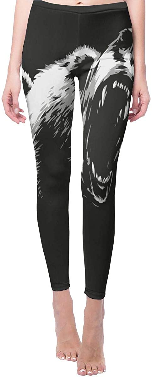 Game Life Leggings with Angry Bear Yoga Pants Trousers Sweatpants