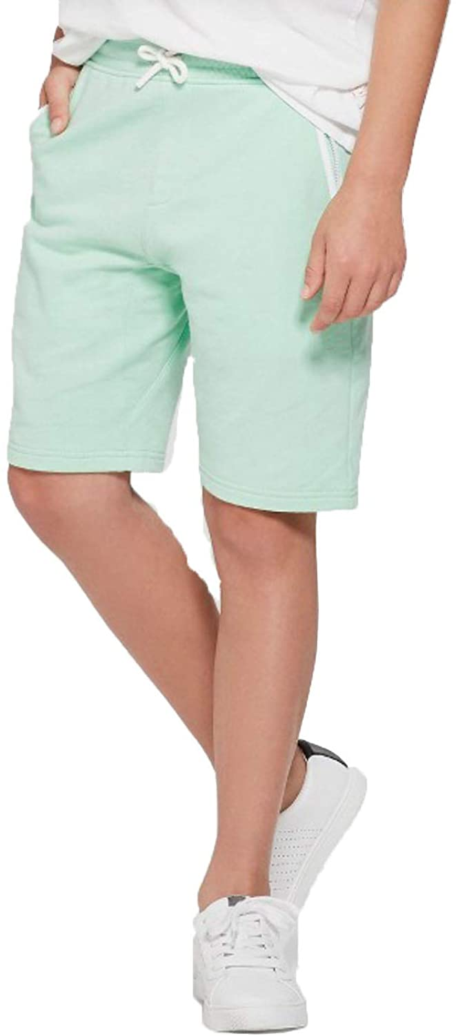 art class Boys' Pocket Knit Fashion Shorts-Mint-XL(16)
