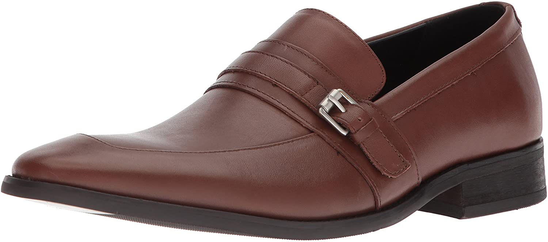 Calvin Klein Men's Reyes Nappa Calf Leather Loafer