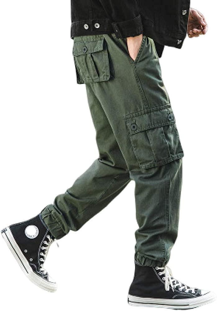 Men's Pants Japanese Retro Basic Casual Pants Original Multi-Pocket Endurance