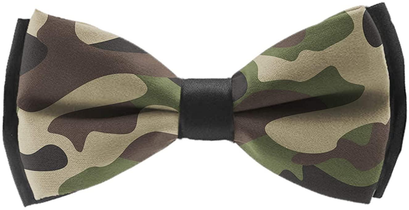 Mens Adjustable Neck Bowtie Bow Tie, Gray Aviation
