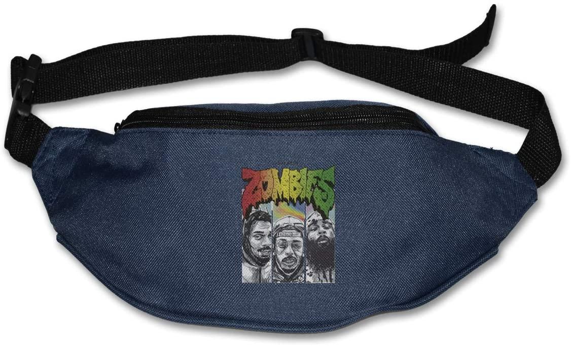 Ertregysrtg Flatbush Zombies Three Runner's Waist Pack Fashion Sport Bag