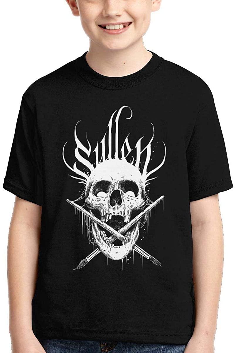 Laiyang Sullen Boys' Short Sleeve Casual Retro T-Shirt