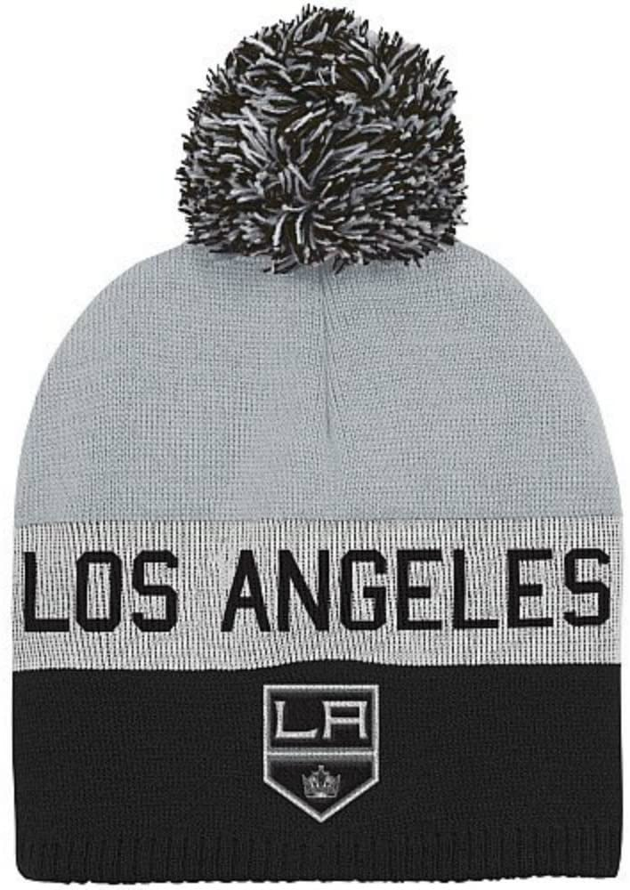 Genuine Merchandise Los Angeles Kings Adult Knit Beanie Hat Cap with Pom