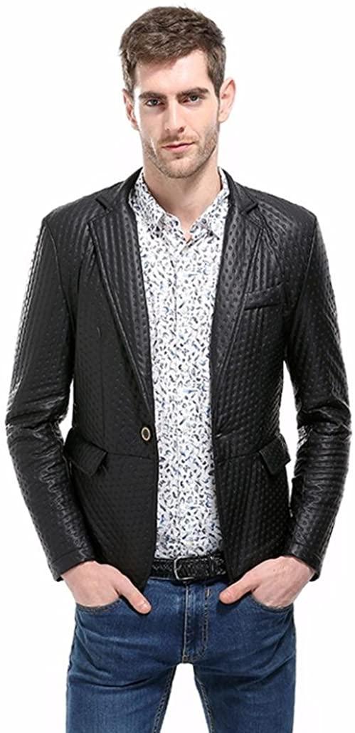 BCDshop Men's Suit Jacket Fashion Charm Casual Slim Fit Suit Blazer Coat Jacket Tops