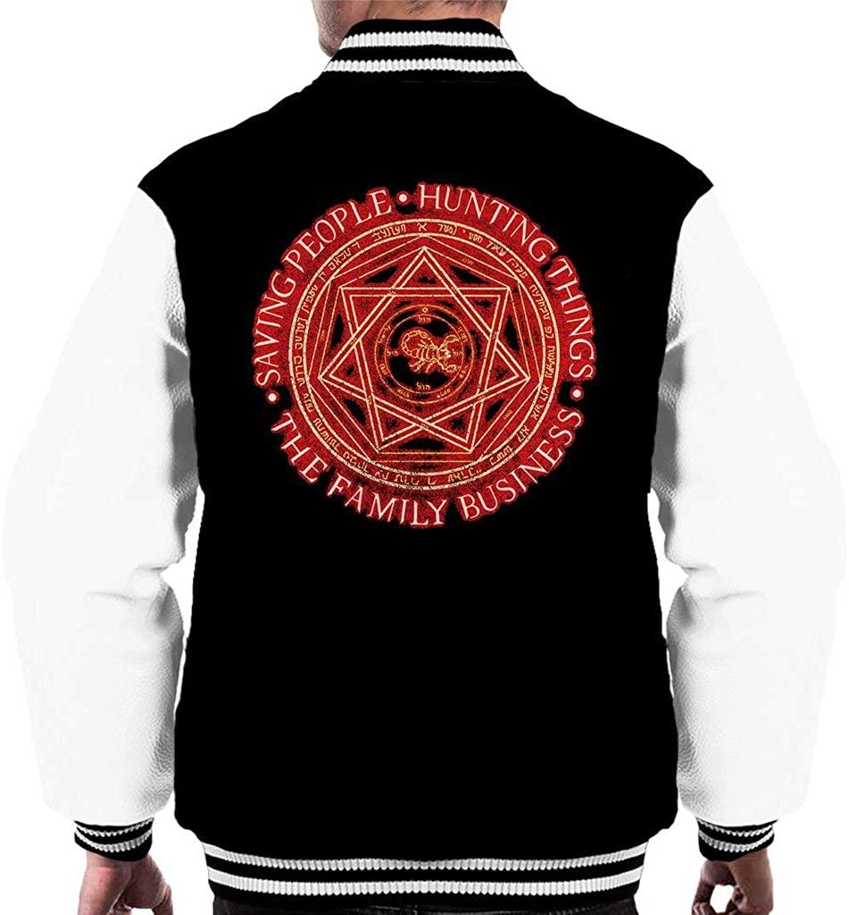 Supernatural The Family Business Men's Varsity Jacket