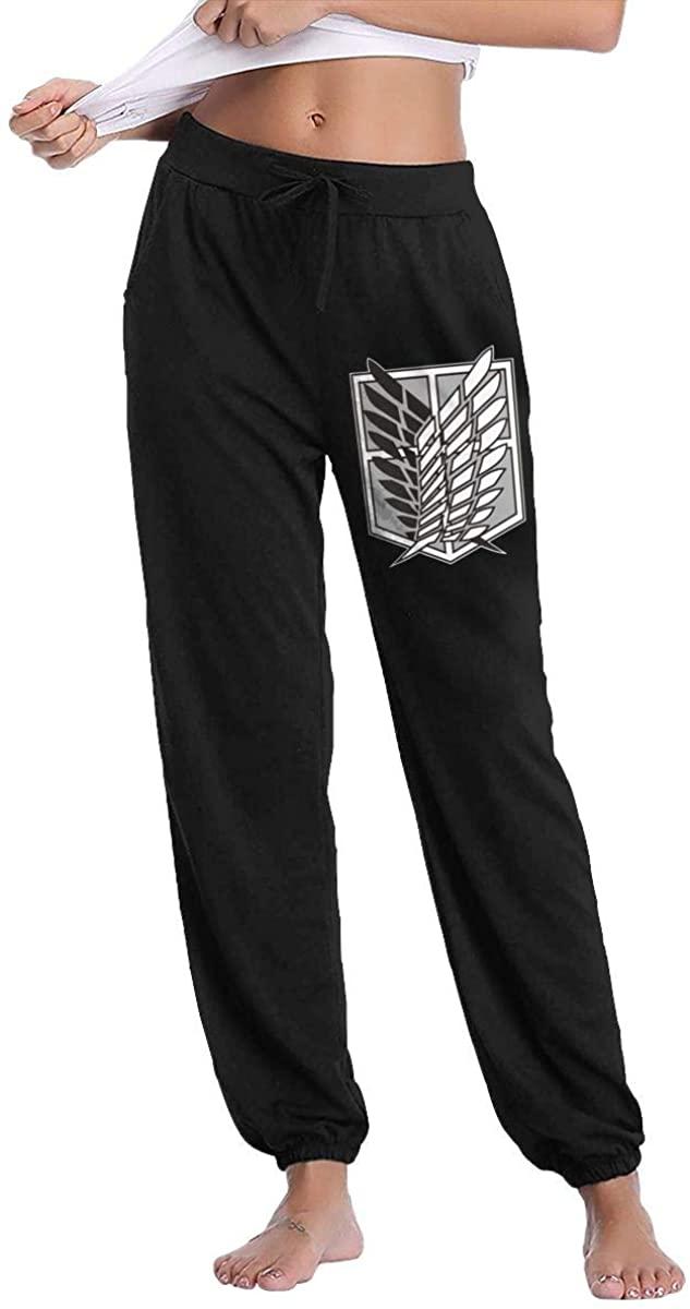 Attack On Titan Wings of Freedom Fashion Leisure Pants Breathable Women's Long Pants Sleep Pants Sweatpants