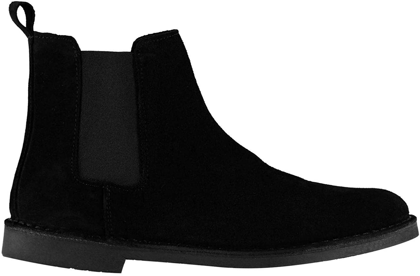 Firetrap Francis Mens Chelsea Boots Mens Black Ankle Cut Shoes Footwear