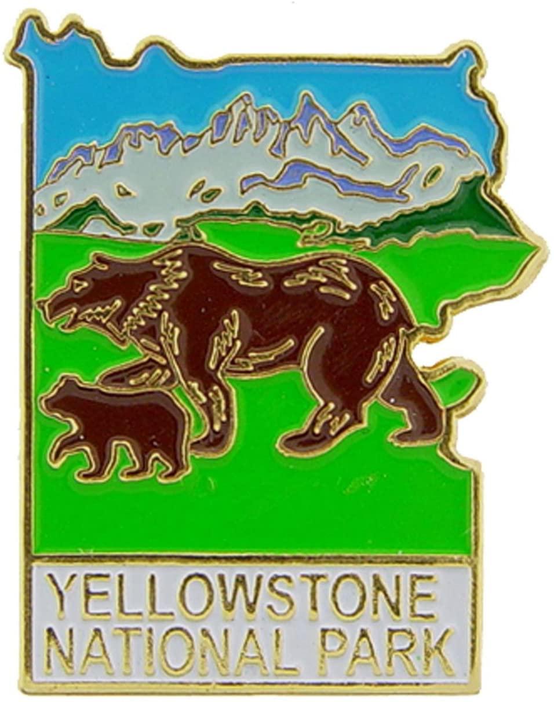 Yellowstone National Park Pin 1
