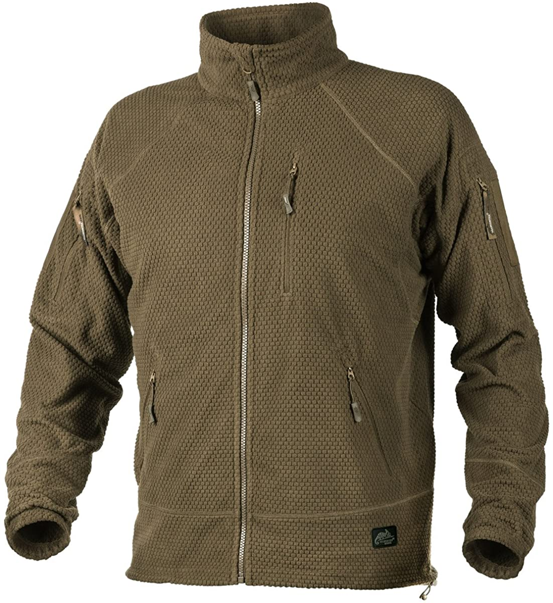 Helikon Men's Alpha Tactical Jacket Grid Fleece Coyote Size XS