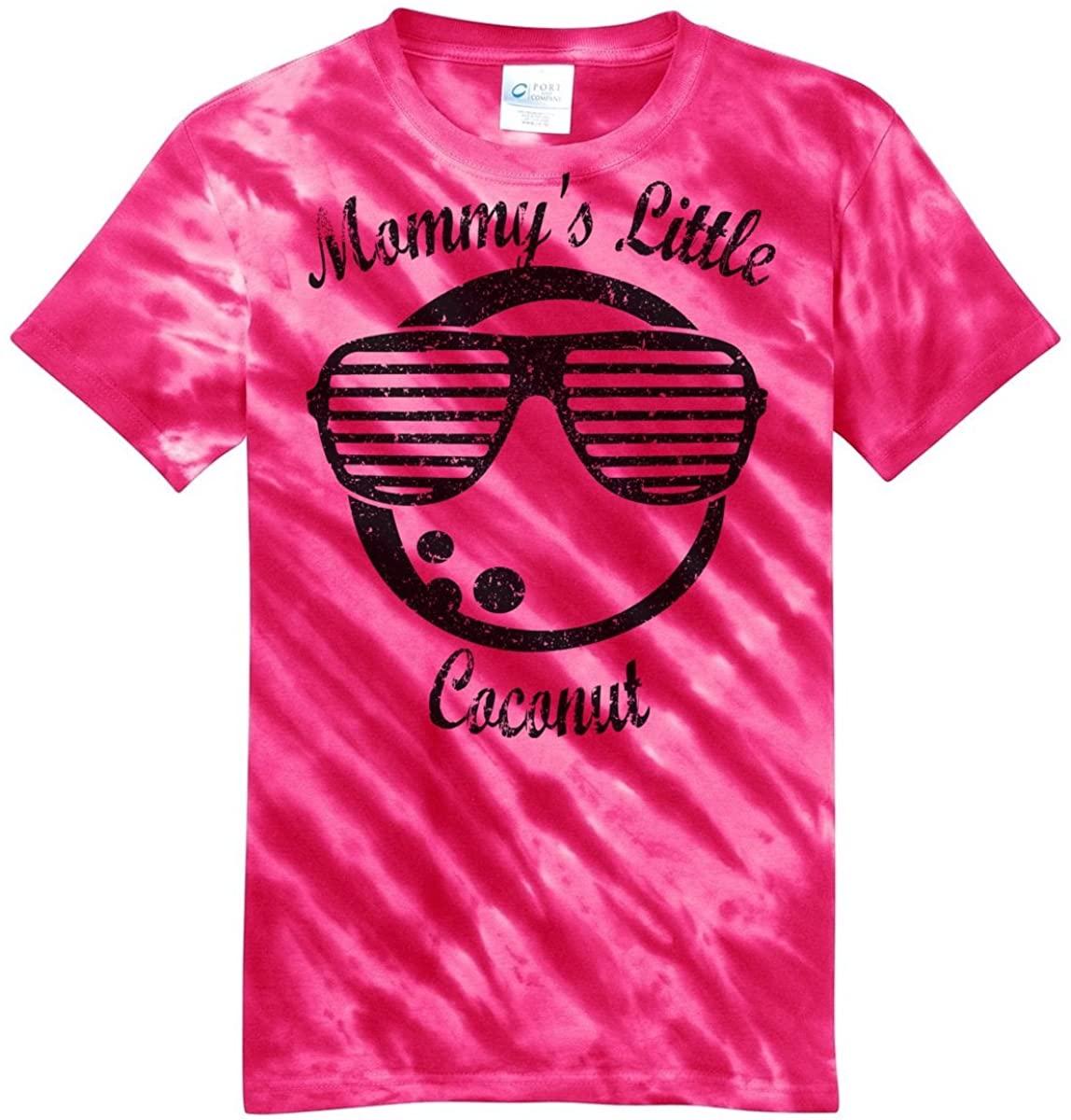 Digital T-Shirt Shop Girls Mommy's Little Coconut T-Shirt