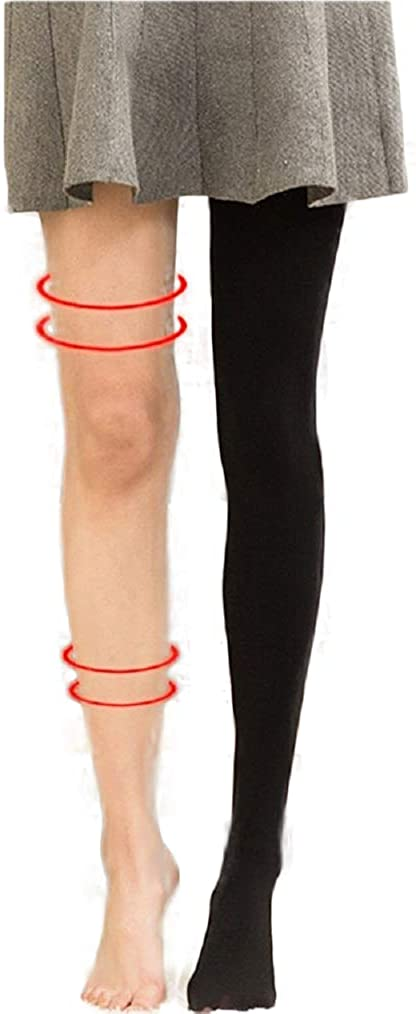 Cable Cotton Opaque Control Tops Womens Winter Opaque Hosiery-Skinny Warm Tights Thermal Pantyhose