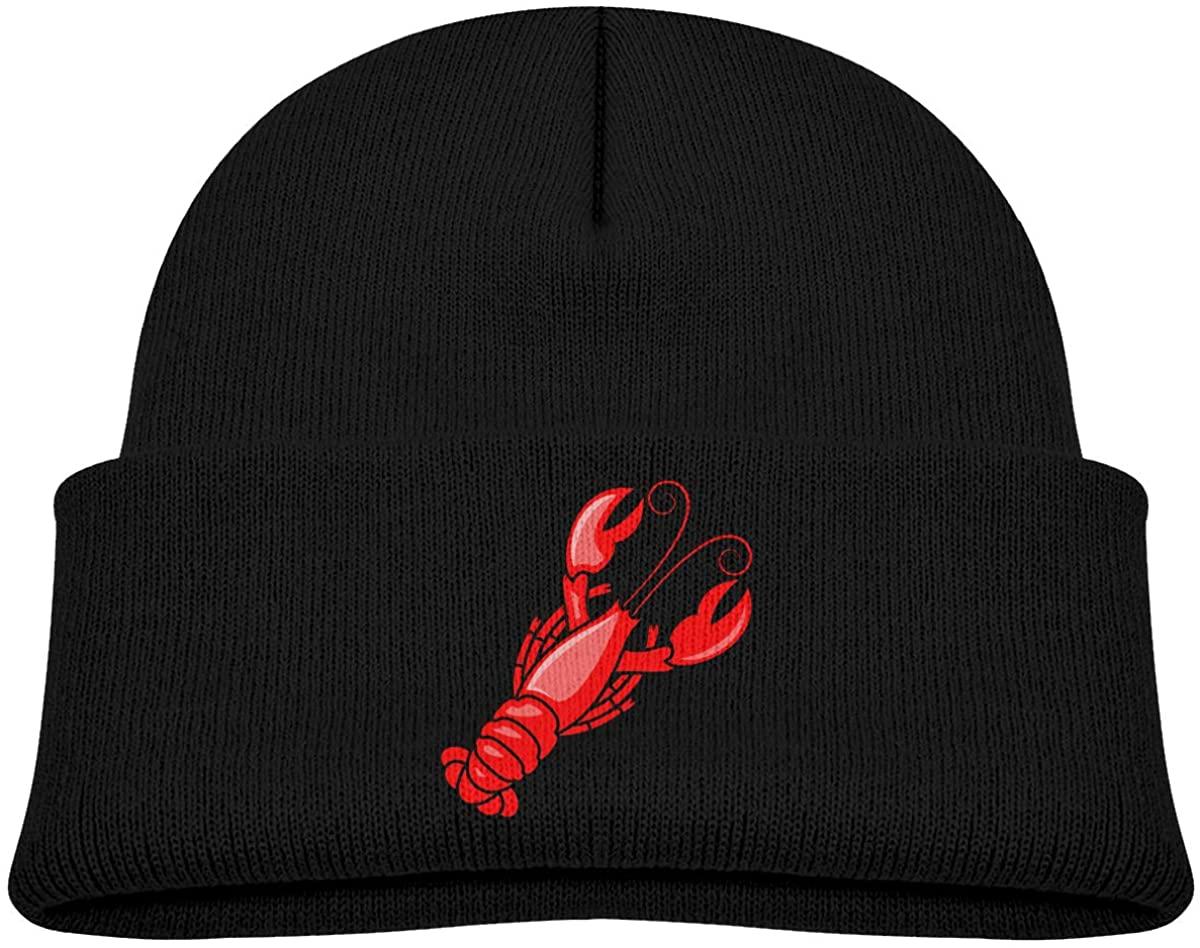 ZWZ Boston Lobster Toddler's Hats Winter Knit Beanie Cap Skull Cap