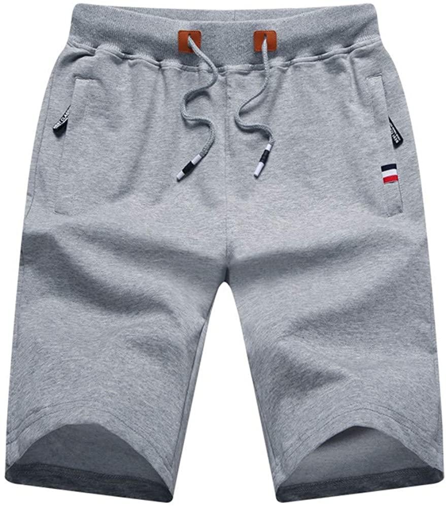 Soluo Mens Shorts high Waisted Casual Running Cotton Bikini Panties Boxers Underwear