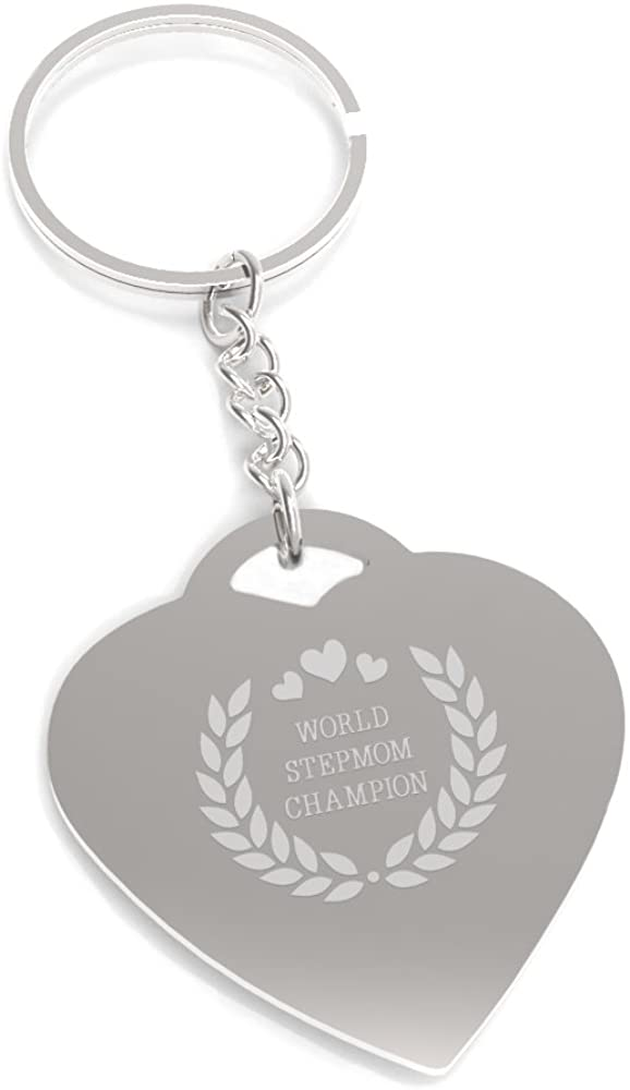 365 Printing World Stepmom Champion Keychain Cute Gift Ideas For Stepmothers