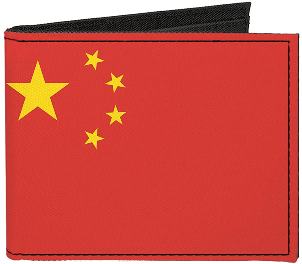 Buckle-Down Canvas Bifold Wallet - China