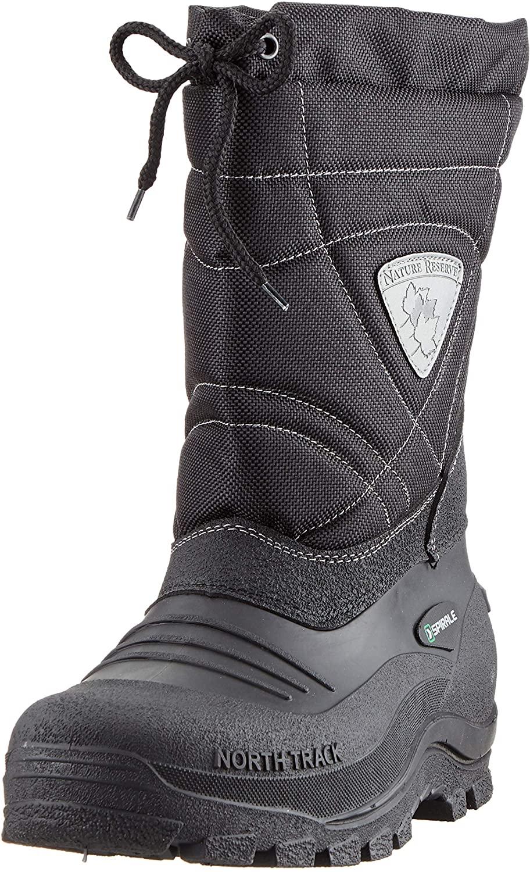 Spirale Men's Snow Boots, Black Nero 02500500, 7.5 us