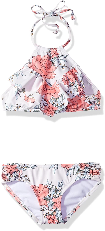 Billabong Girls' Girls' Nova Floral High Neck Swim Set