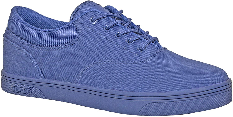 Vlado Footwear Boy's Mono Royal Blue Milo Low Top Sneakers Size 7