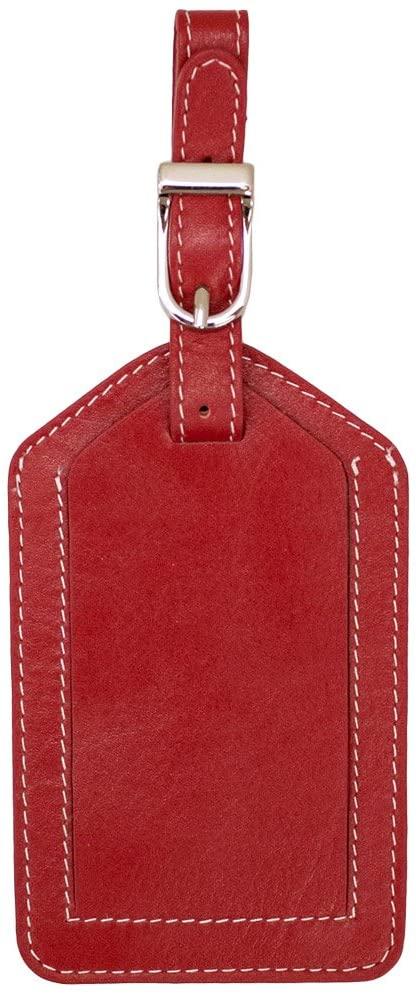 DJNY Genuine Leather Luggage Tag