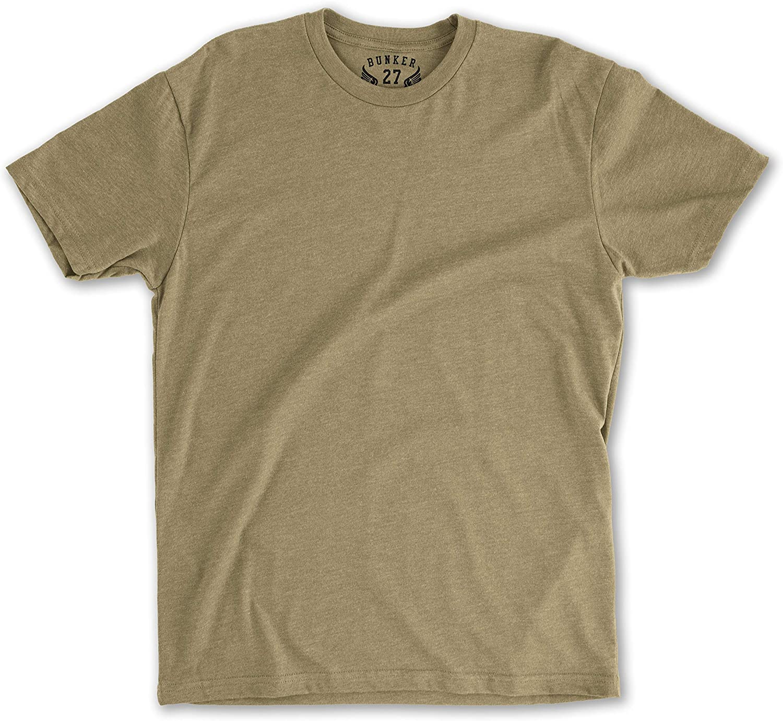 BUNKER 27 Coyote Brown T-Shirt AFI 36-2903