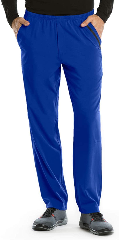 BARCO One 0217 Men's 7 Pocket Athletic Jog Scrub Pant Cobalt L