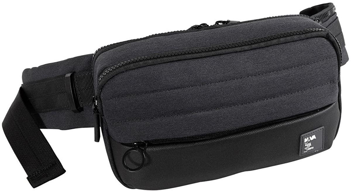 Marsupio | Nava Design Passenger Leather | PS090-Black