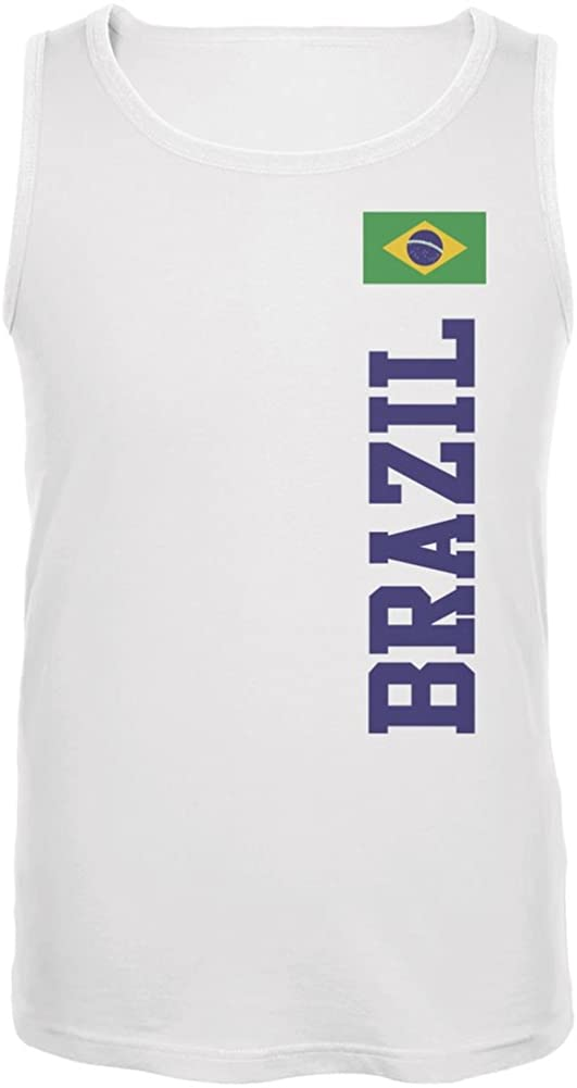 FIFA World Cup Brazil White Adult Tank Top