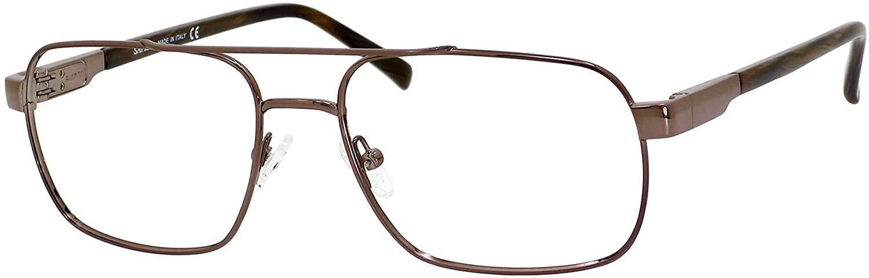 Elasta Elasta 7201 01WK Light Brown Eyeglasses